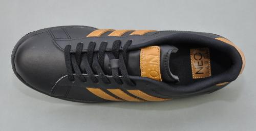 Details zu Adidas NEO DERBY II LE Herren Sneaker Schuhe SchwarzBraun Q26244