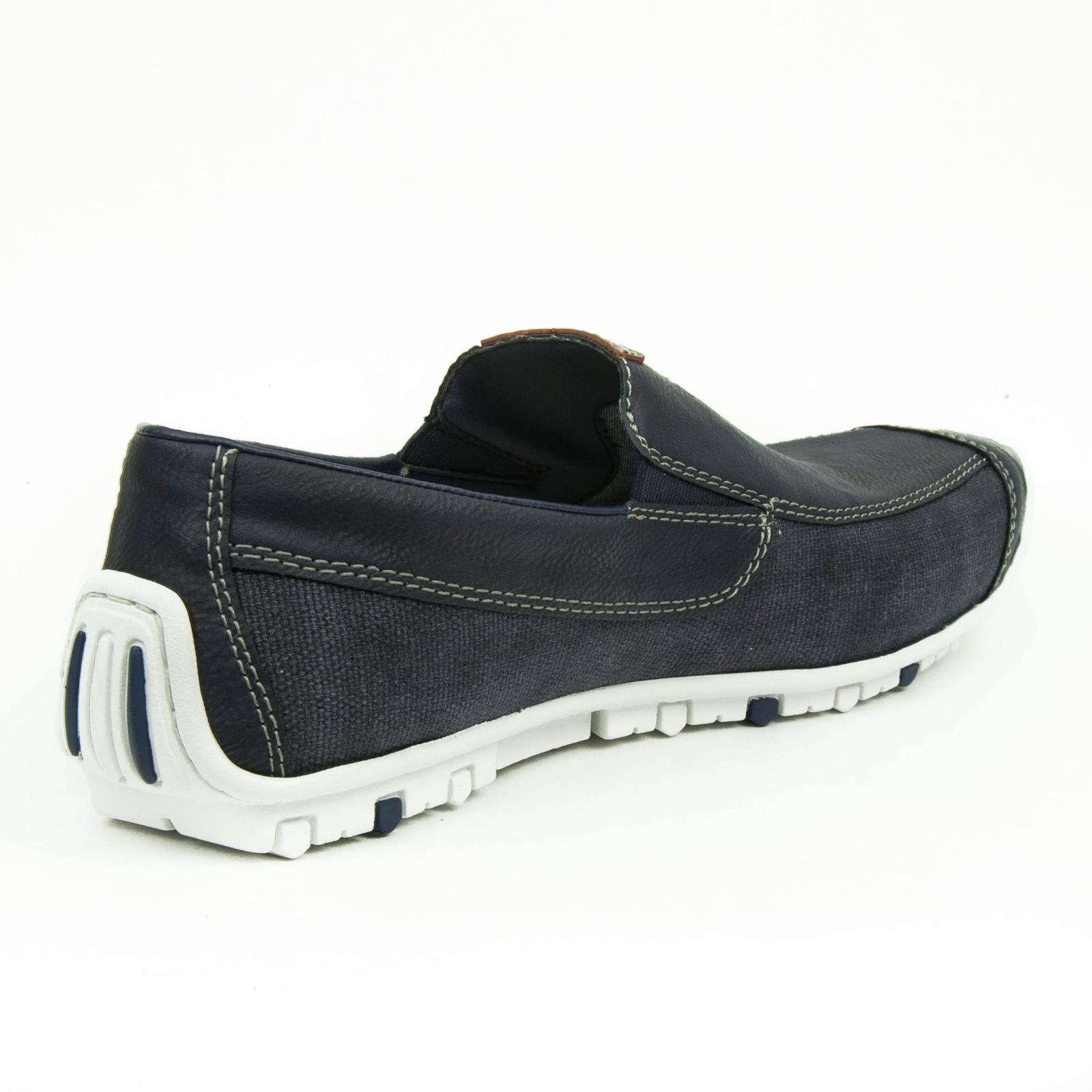 Details zu Rieker Balti Leinen Scuba Schuhe Slipper Halbschuhe Freizeit Sneaker B9265 15